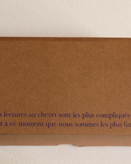 Zoé Ledoux, Les lectures au chevet