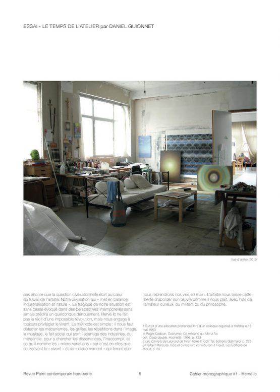 Cahier monographique Hervé Ic